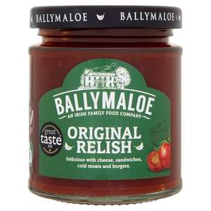 Free Ballymaloe original relish 210g from Tesco today  with checkoutsmart