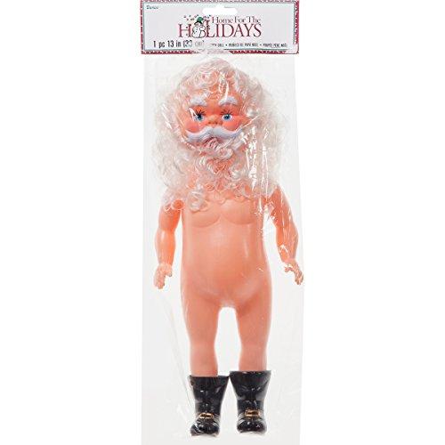 Darice Plastic Music Box Doll 13-inch, Santa Claus - £11.20 (Prime) £14.19 (Non Prime) @ Amazon