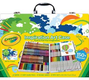 Crayola Inspirational Art Case including 150 pieces £14.99 @ Argos (free c+c)