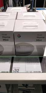 Google Home Mini £32 at Manchester airport @ Dixons