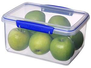 Sistema KLIP IT Food Storage Container, 3 L - Clear with Blue Clips £3  Add On @ Amazon