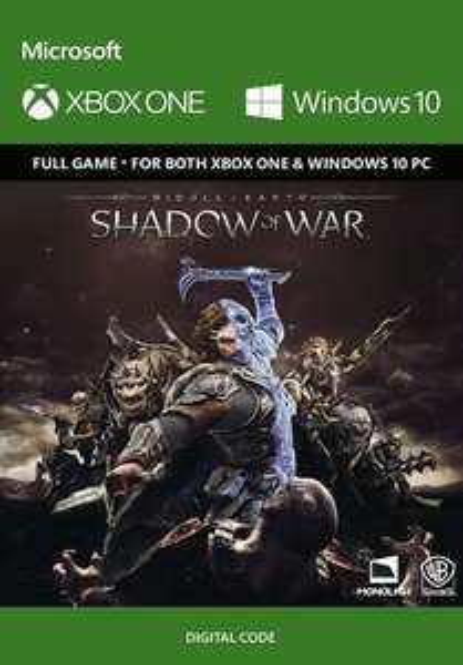[Xbox One/Windows 10] Middle-Earth: Shadow of War - £24.99/£23.74 - CDKeys