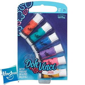 Doh Vinci Sparkle Refill 6 Pack 99P @ Home Bargains