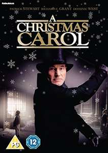A Christmas Carol DVD with Patrick Stewart as Scrooge £4.99 prime / £6.98 non prime Amazon