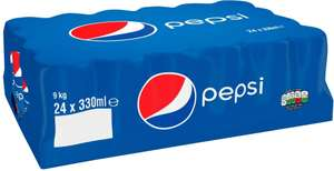 Pepsi and Pepsi Max (24 Cans x 33oml) ONLY £4.99 or (less than 21p) @ Lidl (INSTORE ONLY)