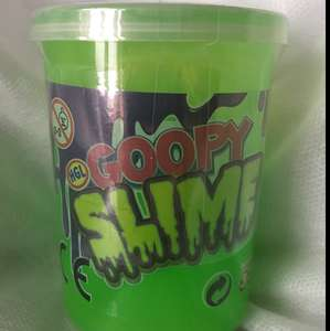 GOOPY SLIME POT 89p at Home Bargains.