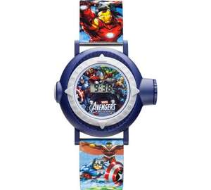 Marvel Character Projection Quartz Plastic Strap Watch, now £2.50 in B&M