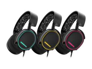 SteelSeries Arctis 5, Gaming Headset, DTS 7.1 Surround, RGB, PC, Xbox, PS4 and more. £51.99 @ Amazon