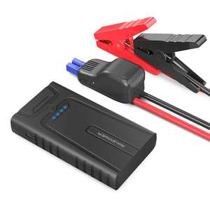 RAVPower Car Jump Starter 10000mAh 400A Peak up to 3L Gasoline Engines, Booster Battery Pack 2.4A Max iSmart 2.0 Output USB Ports, Built-In SOS LED Flashlight - £32.24 Prime / £32.24 non prime using code @ Amazon / Sunvalleytek-UK