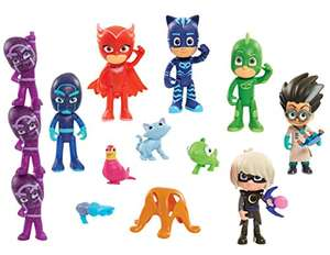 PJ Masks Deluxe 16 pc Figure Set £19.98 / £24.73 non prime - Amazon (Out of stock, but orderable for when it's available)