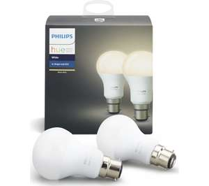 Re-post PHILIPS Hue White Wireless Bulb - B22 £24.99 also 3 for 2 @ Currys