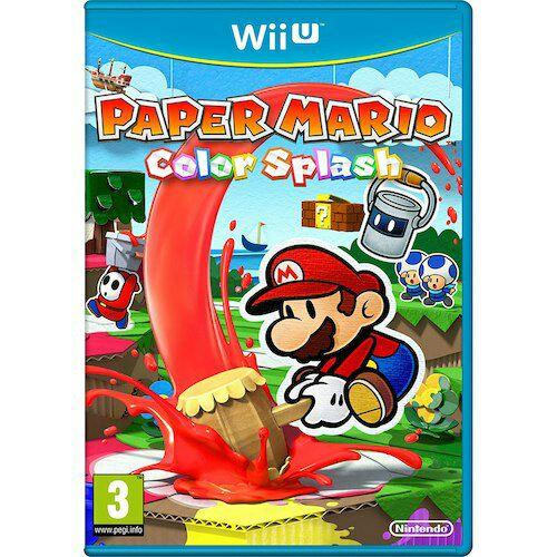 Paper Mario Colour Splash - Wii U £24.96 @ Toys r us