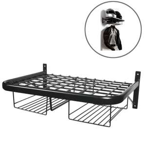 50% off!  Twin Clothing and Helmet Shelf Black £11.99 @ M&P free postage if you spend £25 or more
