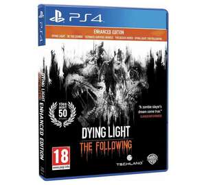 Dying Light The Following Enhanced Edition PS4 & XB1 @ argos