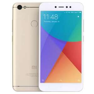 Xiaomi Redmi Note 5A 3GB RAM 32GB ROM 4G Phablet (Global Edition with band 20)  - £105.37 @ Gearbest