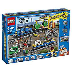 LEGO City Remote Control Cargo Train, Station, Tracks and Power Functions 4 in 1 Super Pack 66493 £168 @ Tesco direct