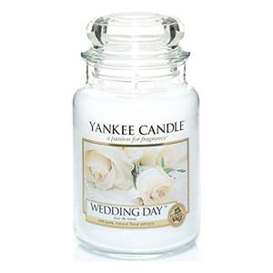 Large Wedding Day Yankee Candle £9.99 prime / £14.74 non prime - Newly added. Sold by Myswift dispatched by Amazon