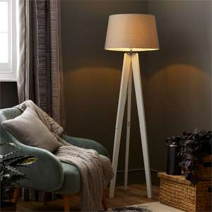Poppy tripod lamp @ homebase instore for £15