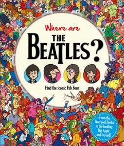 'Where are The Beatles?' Hardback Book £3.00 at The Works - Instore Only