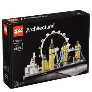 LEGO 21034 Architecture London Skyline Building Set at Amazon for £36.44