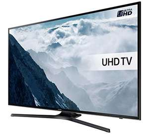 Samsung UE55KU6000 55 Inch UHD HDR Smart LED TV, £559.20 from Amazon