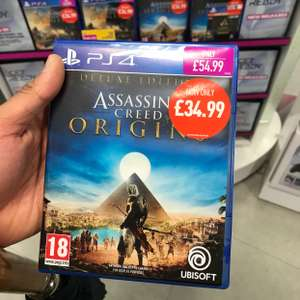 Assassins creed origins deluxe edition PS4 £34.99 @ Game - manchester