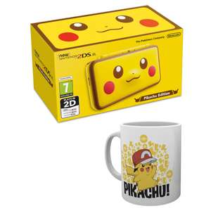 Nintendo 2ds Xl Pikachu Edition + Pikachu Mug @ Nintendo for £139.99
