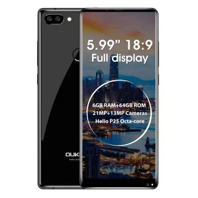 Oukitel MIX 2 4G Phablet 6GB RAM 64GB ROM £150.53 @ GearBest