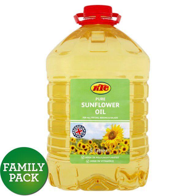 KTC Sunflower Oil 5L @ Sainsburys online/in-store £4.00