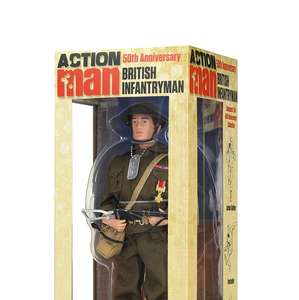 50th anniversary Action Man £20 off , £38 @ Amazon