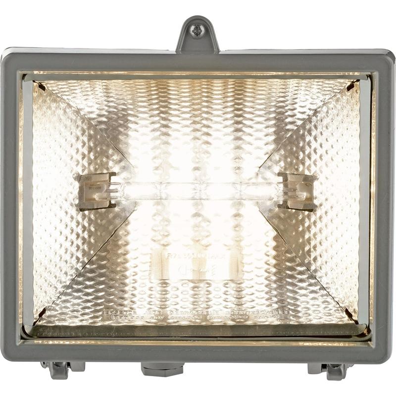 400W - Halogen Floodlight - Aluminium @Homebase - £1 (C&C)