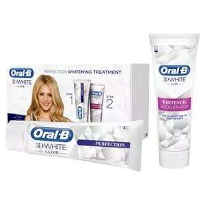 Oral-B 3D White Luxe Perfection Toothpaste Treatment - £4.49 @ Superdrug (C&C)