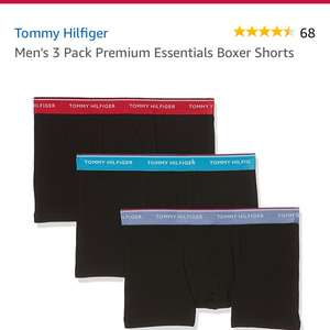 Tommy Hilfiger 3 pack Men's boxer shorts £20.35 Amazon Prime free next day delivery & student prime price £18.31