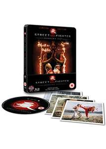 Street Fighter: Assassin's Fist Steelbook (Blu-ray & Art-Cards) £3.49 Delivered @ Base
