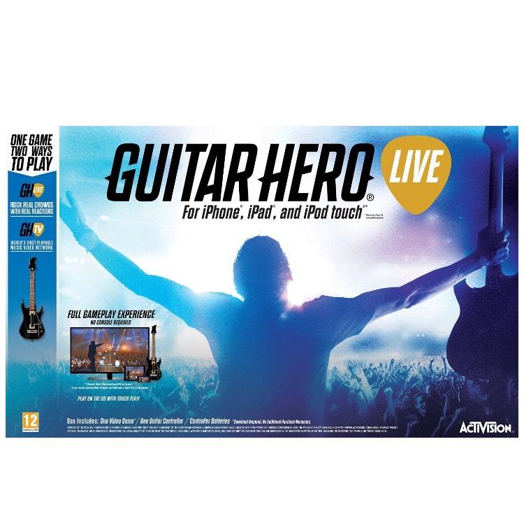 iOS Guitar Hero Live Bundle £7.80 Prime @ Amazon