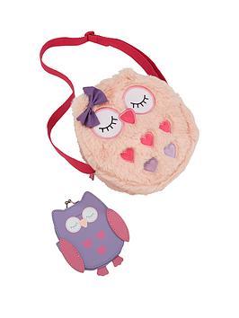 Cute Owl Faux Fur Owl Handbag & Purse £4.99 @ Very (Free C&C)