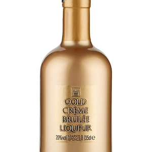 Case of 6 bottles of M&S gold creme brûlée liqueu £48