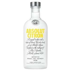 Amazon Prime Absolut Vodka 70cl Various Flavours Deal of the Day £13.50 Prime @ Amazon