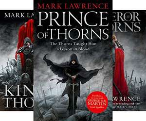 Kindle Edition - The Broken Empire (3 Book Series) by Mark Lawrence @ Amazon 99p Each