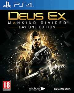 Deus Ex: Mankind Divided Day One Edition (PS4) £4.99 Delivered @ GAME