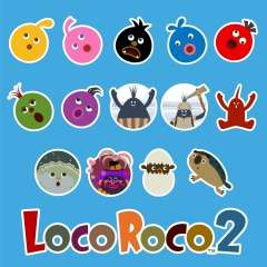 LocoRoco™ 2 Remastered Avatar Bundle (PS4)