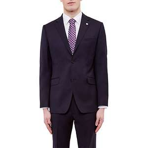 Ted Baker 100% Wool Tailored Fit Navy Suit £150 (Reduced from £360) John Lewis
