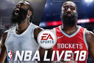 NBA LIVE 18: The One Edition (PS4) £7.59 @ Playstation Store US