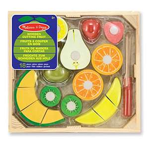 Melissa and Doug Wooden Cutting Fruit Set - £8.50 (Prime) / £13.25 (non Prime) at Amazon