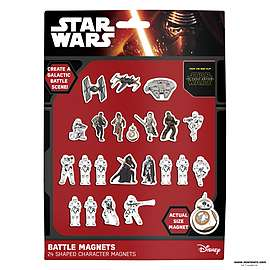 Set of 24 Star Wars Battle Magnets EP7 £1.25 + Free Delivery @ Game