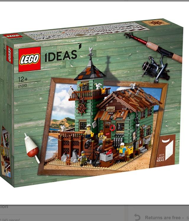 Lego ideas Fishing store 21310 - £119.99 at John Lewis