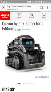 Cozmo (Anki) reduced £149.99 at Argos! - Limited Edition