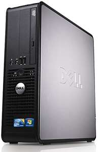 Dell Optiplex 780 SFF Desktop PC (Black / Silver) - Windows 10 Pro - Intel Dual Core 2.5GHz - 4GB DDR3 RAM - 240GB SSD (Certified Refurbished) Amazon £209.99 (several options available)