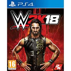 WWE 2K18 - PS4/Xbox One - £22.99 delivered at Game.co.uk