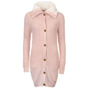 SoulCal Maxi Knit Cardigan Ladies for 10.99 plus £4.99 delivery/collect(receive a £5 voucher to spend in store) @ SportsDirect